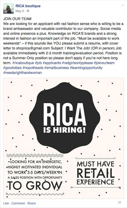 Rica_Hiring